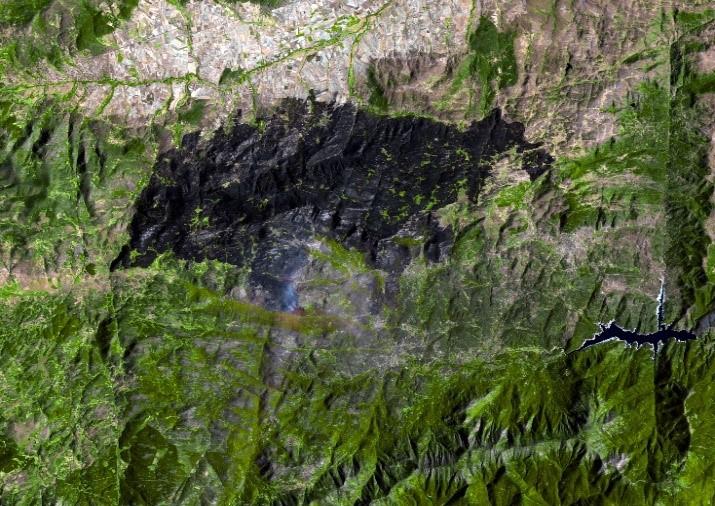Avila, Spain. GEOSAT-1 Image. Aug. 17, 2021