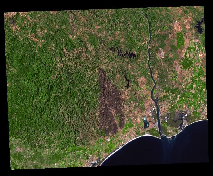 Castro Marim, Portugal. GEOSAT-1 Image. Aug. 28, 2021